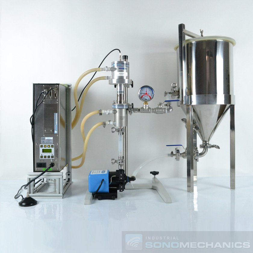 A Leap Forward in Cannabinoid Extraction with Ultrasonic